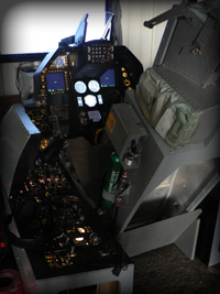Cockpit of Eagle