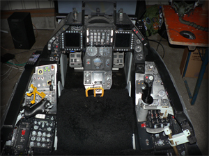 Cockpit of Falcas